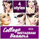 Collage Instagram Banners