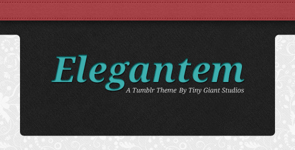 Elegantem - A promotional image that highlights key features