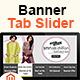 Banner Tab Slider