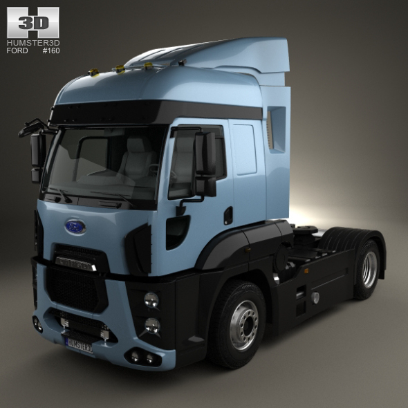 Ford Cargo XHR Tractor Truck 2011 - 3DOcean Item for Sale