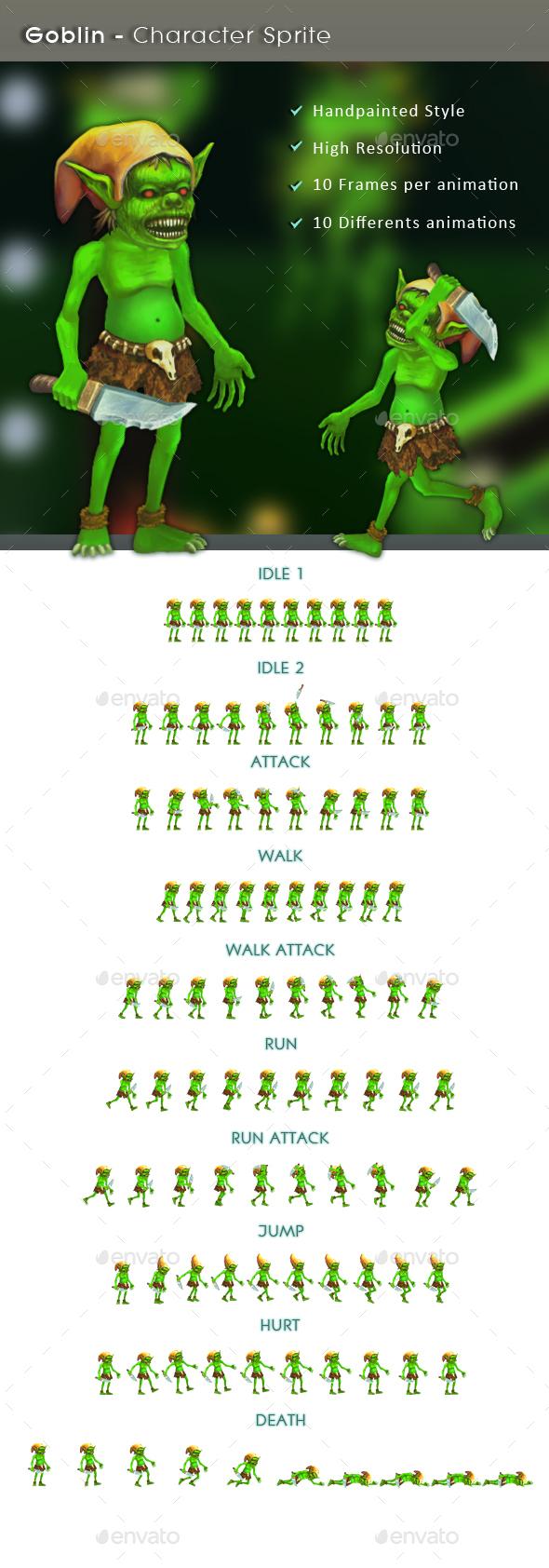 Goblin - Character Sprite (Sprites)