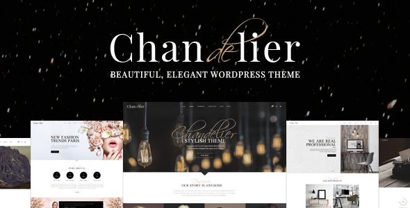 Chandelier - A Theme Designed for Custom Brands