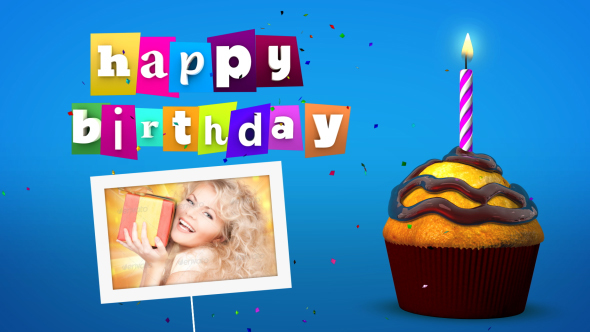 Happy Birthday Celebration Opener - After Effects Template