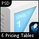 Pricing Tables - 5 Pack - GraphicRiver Item for Sale