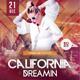 California Dreamin - PSD Flyer