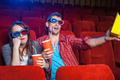 The spectators in the cinema