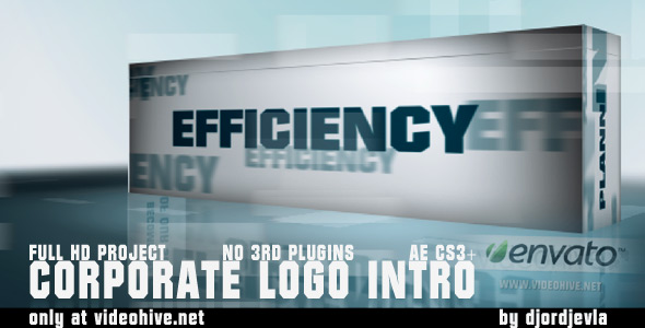 Corporate Business Logo Intro 5 texts