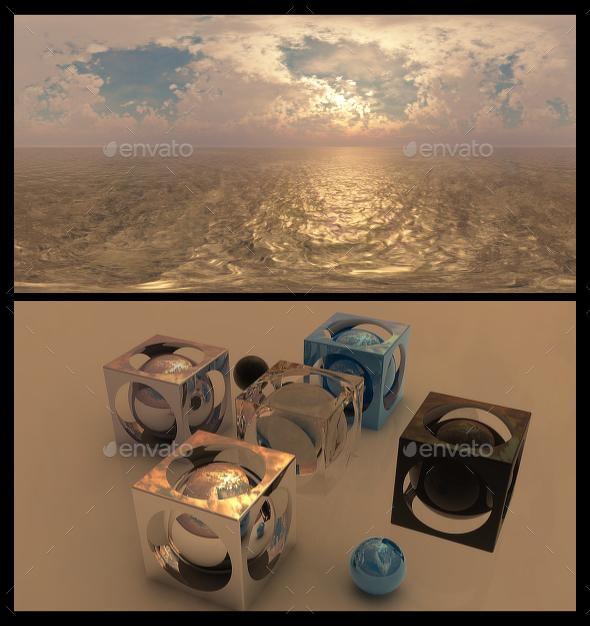 Golden Hour 4 - HDRI - 3DOcean Item for Sale