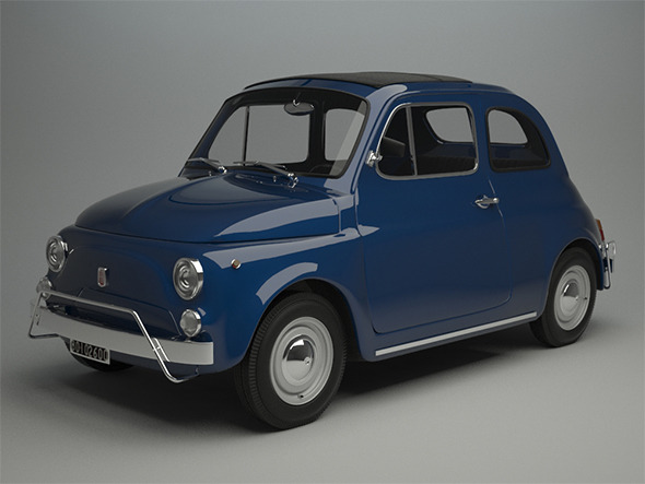 Fiat 500 L 1970 - 3DOcean Item for Sale