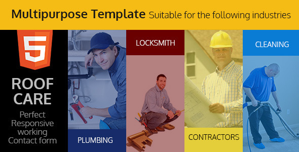 Roof Care - Roofing & Construction HTML Template