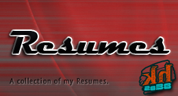 My Resumes