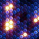 Hexagon mosaic fractal reflectors - VideoHive Item for Sale