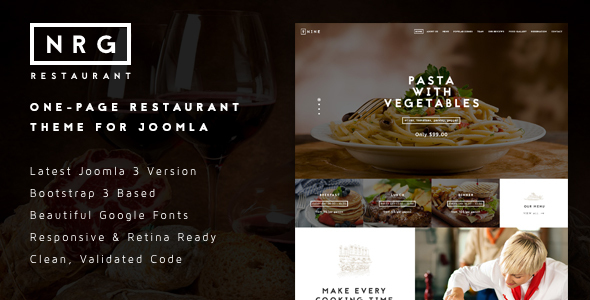 Image of NRGrestaurant - Restauranteur & Catering Template