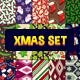 30 Christmas Seamless Pattern Set 2