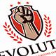 Revolution Crest Logo Template