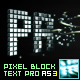 Pixel Block Text Pro AS3 - ActiveDen Item for Sale