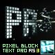 Pixel Block Text Pro AS3 - ActiveDen Item for Sale