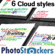 Cloud Word Tag Business Card - GraphicRiver Item for Sale