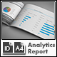 SEO / Analytics Report Template - A4 Landscape