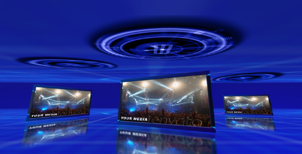 After Effects Project - VideoHive Blue Energy HD 164036