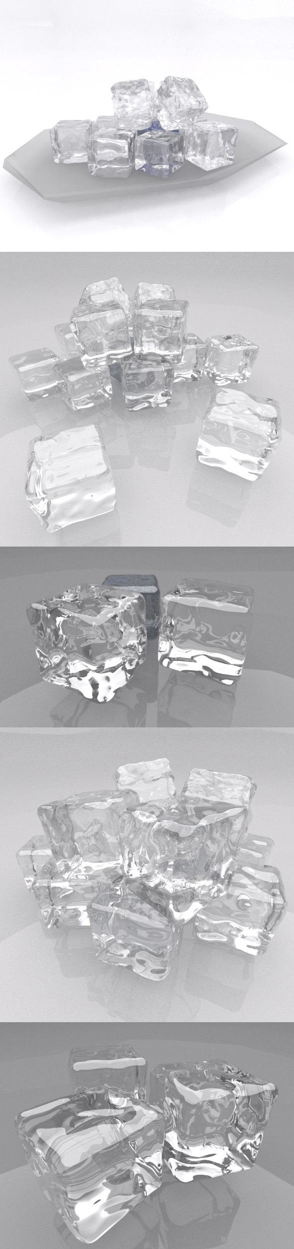 Ice texture and Shader - 3DOcean Item for Sale