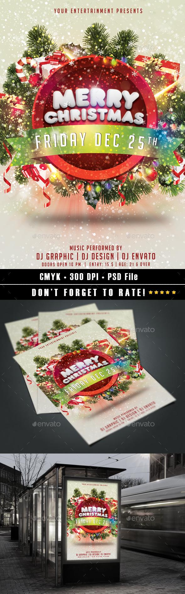 Merry Christmas flyer v2