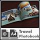 Travel Photo Album Template g1 - A4 Landscape