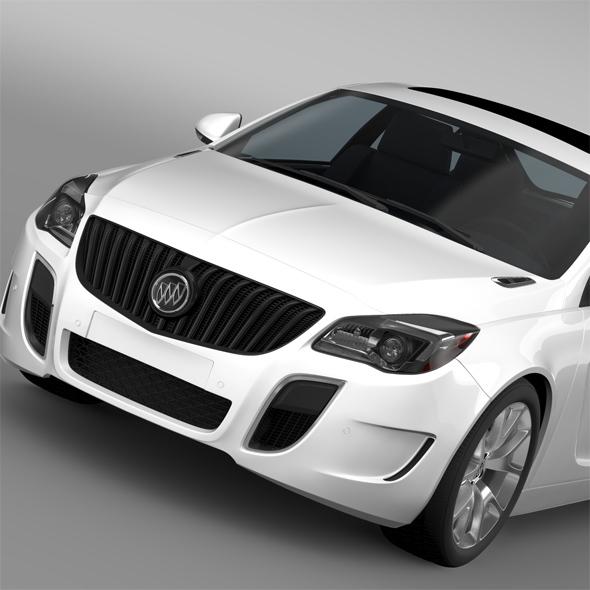 Buick Regal GS 2015 - 3DOcean Item for Sale