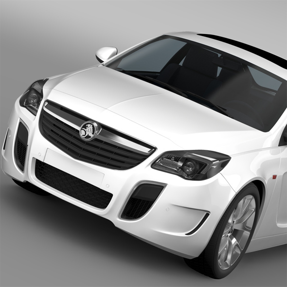 Holden Insignia VXR 2016 - 3DOcean Item for Sale