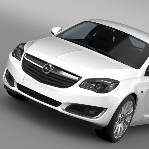Opel Insignia 2015 - 3DOcean Item for Sale