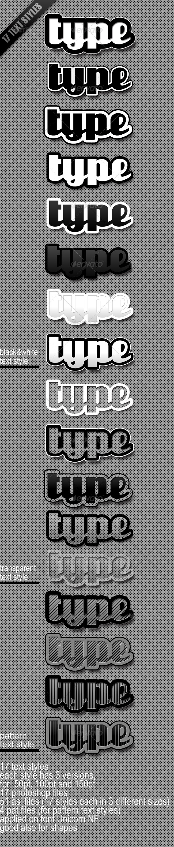 Graphic River Text Styles Add-ons -  Photoshop  Styles  Text Effects 164122