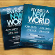 New World Flyer Template - GraphicRiver Item for Sale