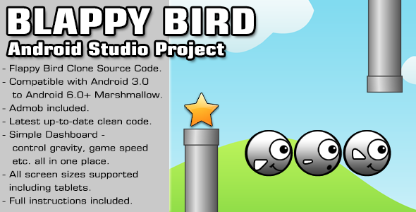 Blappy Bird Source Code - Android Studio Project