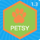 Petsy Shop Responsive Magento 1 & 2 Theme