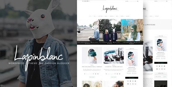 Download Lapin Blanc - Fashion Blog WordPress Theme nulled download