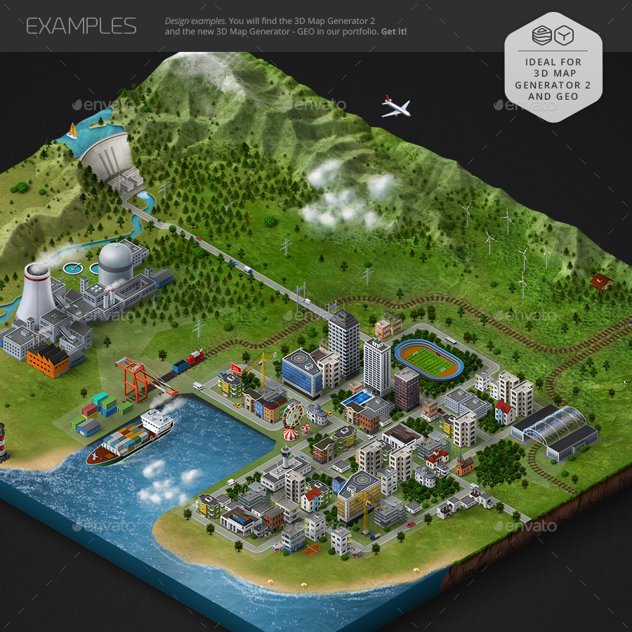 Pin by Derrek Lewis on Isometric Maps in 2019 | Map artwork, Map