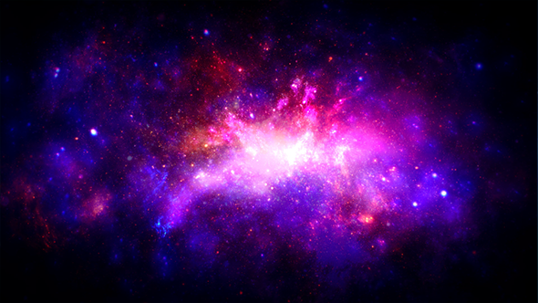 Space Nebula Galaxy by rightbox | VideoHive