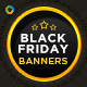 Black Friday HTML5 Banners - GWD - 7 Sizes