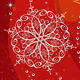 Christmas Red Vertical Greeting Card