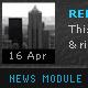 Sleek News Reader Module - ActiveDen Item for Sale