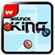 Bounce King - Admob+Leaderboard+Multi char