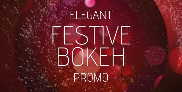 Elegant Festive Bokeh Promo