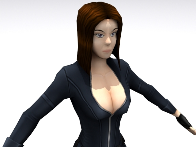 3DOcean Agent Three 3D Models -  Fantasy and Fiction  Characters 1375189