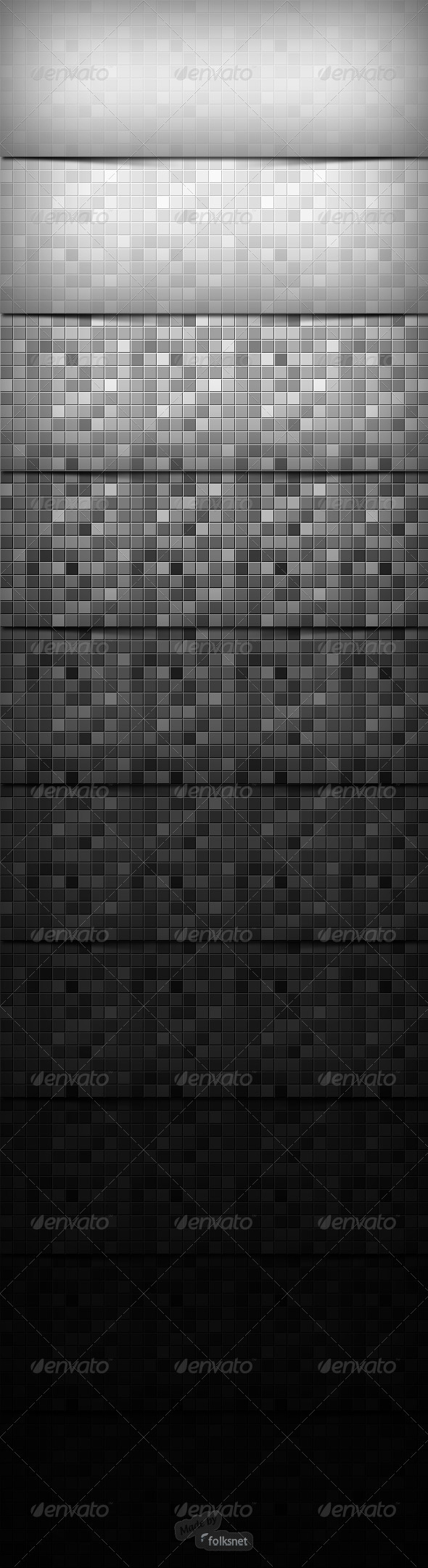 Mozaic Textures 2.0 - Patterns Backgrounds