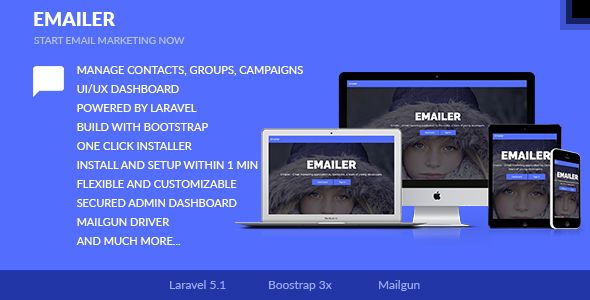 Emailer - Email Marketing Application