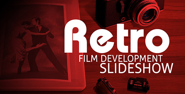 Retro Film Development Slideshow