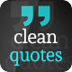 Clean Quotes