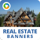 HTML5 Real Estate Banners - GWD - 7 Sizes