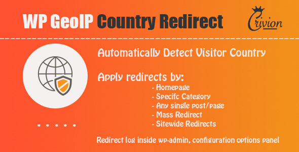 WP GeoIP Country Redirect - CodeCanyon Item for Sale
