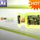 Green Cards After Effects Project - VideoHive Item for Sale